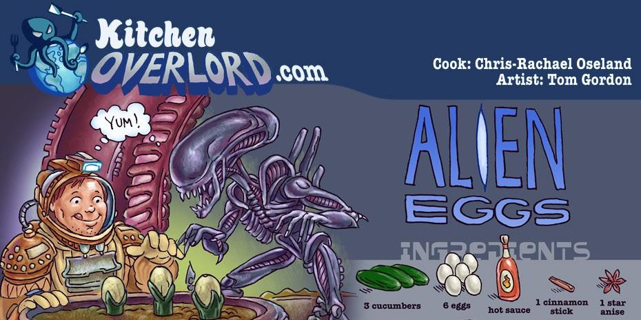 Kitchen Overlord Alien Eggs Header