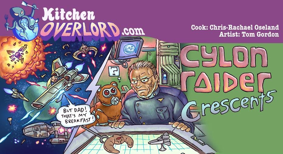 Kitchen Overlord Cylon Raider