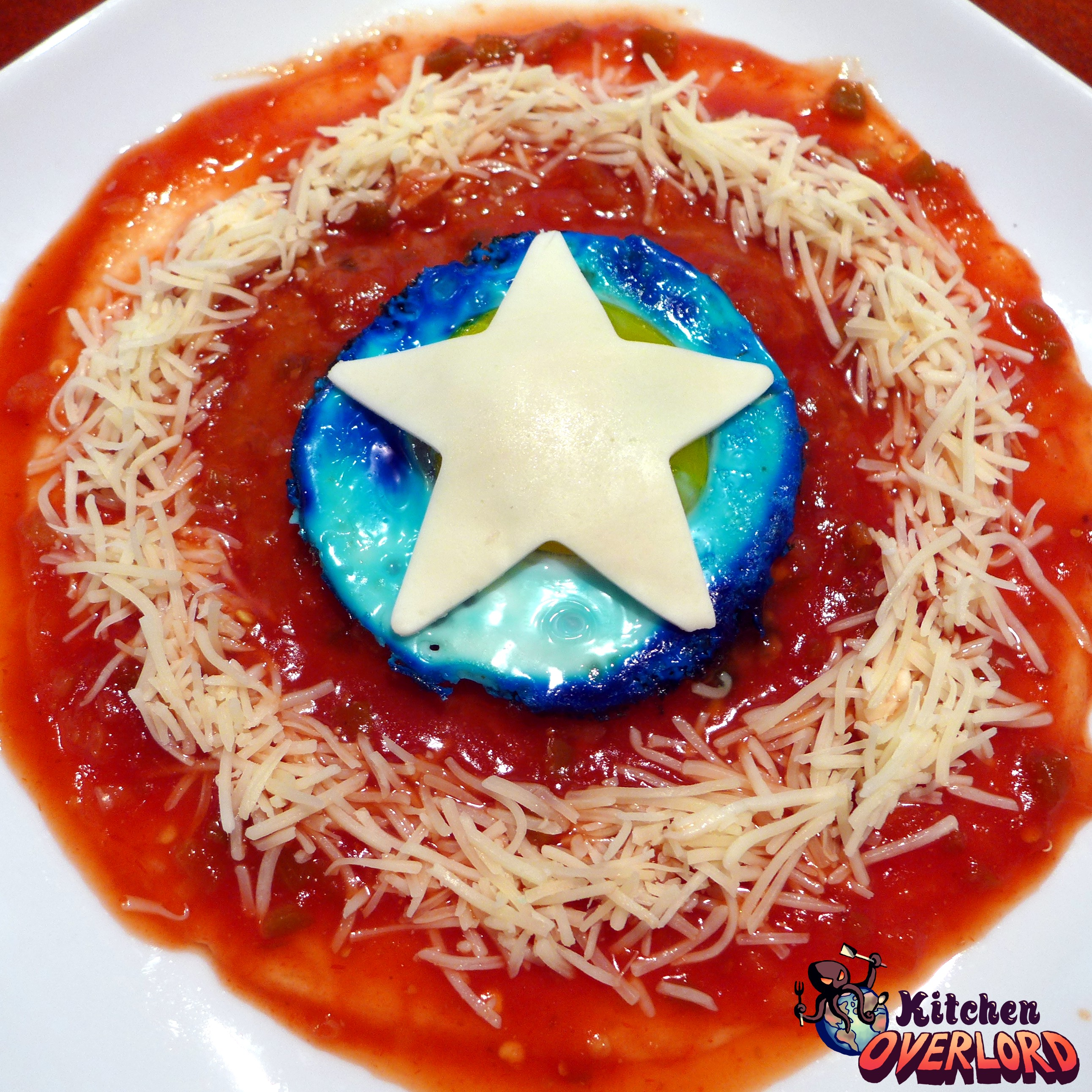 Captain America Huevos Rancheros SHIELD - Kitchen Overlord