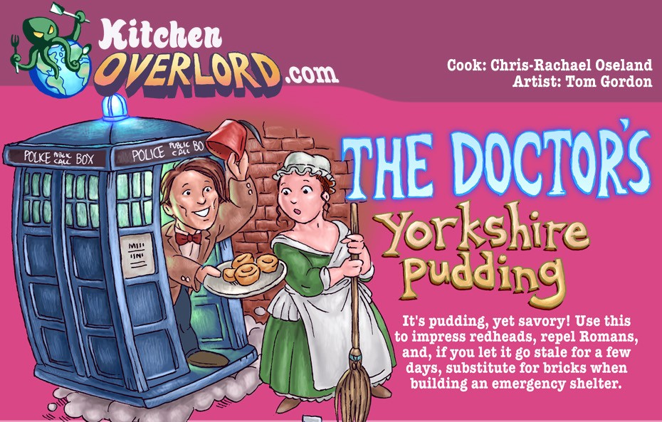 Kitchen Overlord The Doctor's Yorkshire Pudding Header