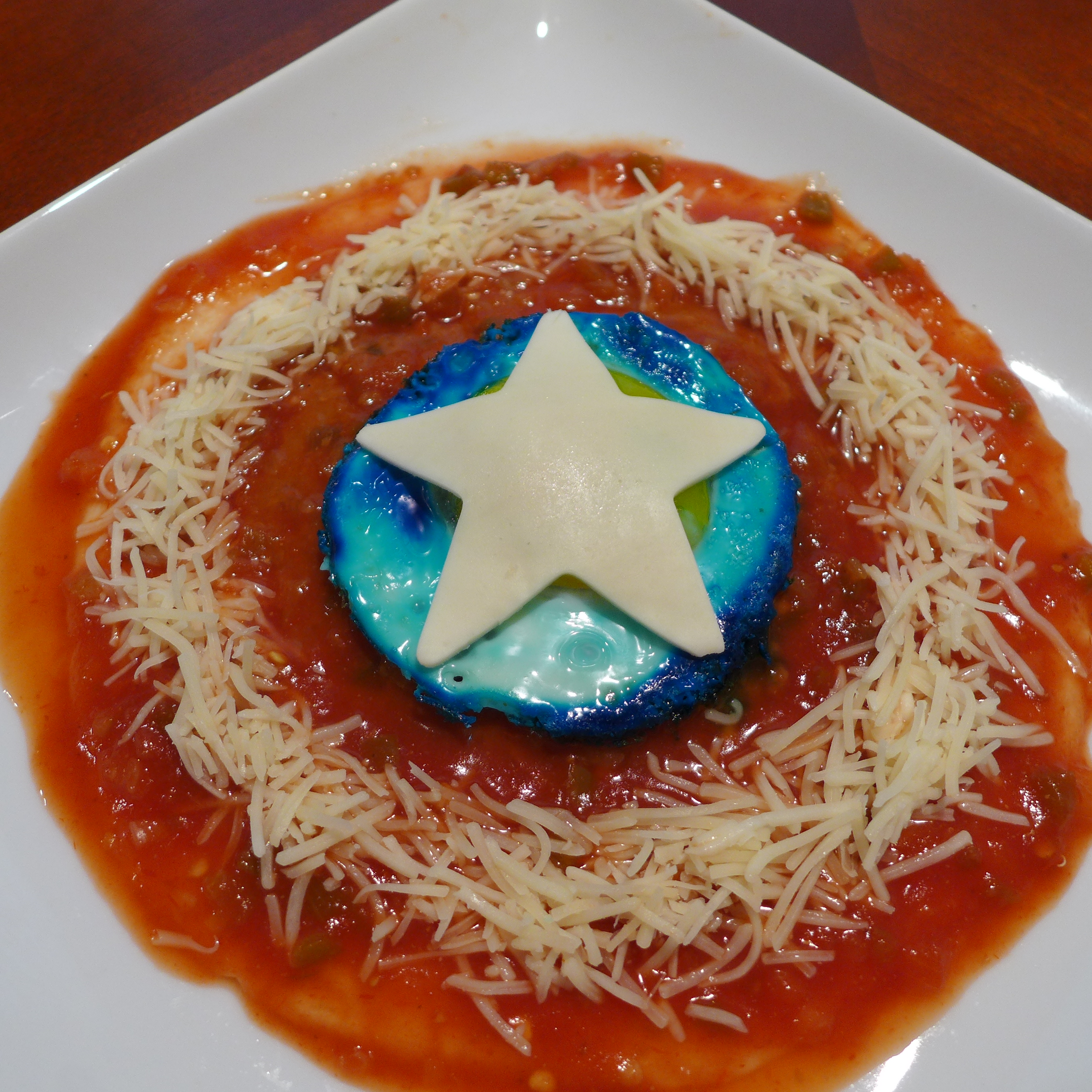 Captain America Huevos Rancheros Instructions - Kitchen Overlord
