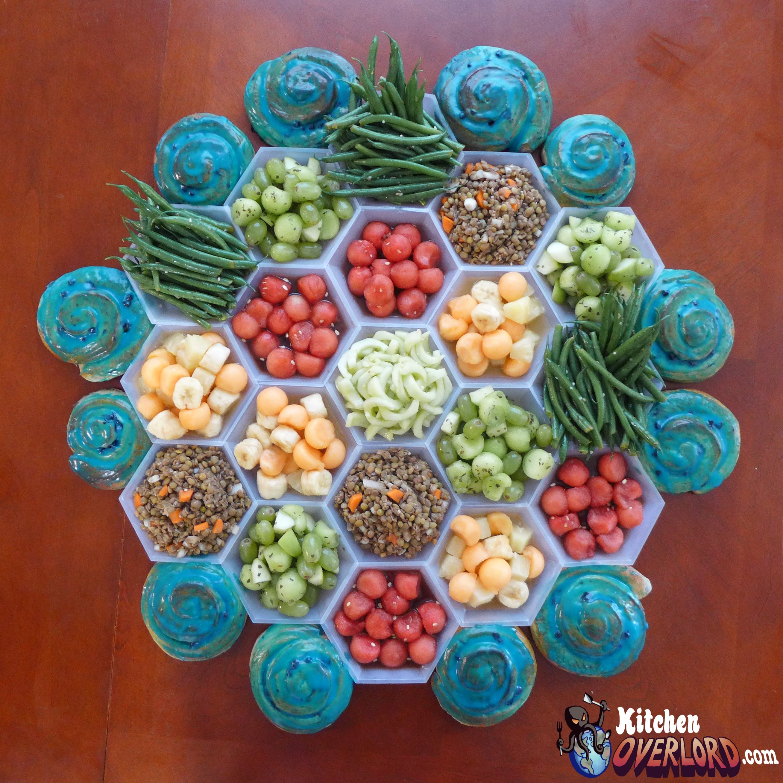 Settlers Cold Salad Board via Kitchen Overlord