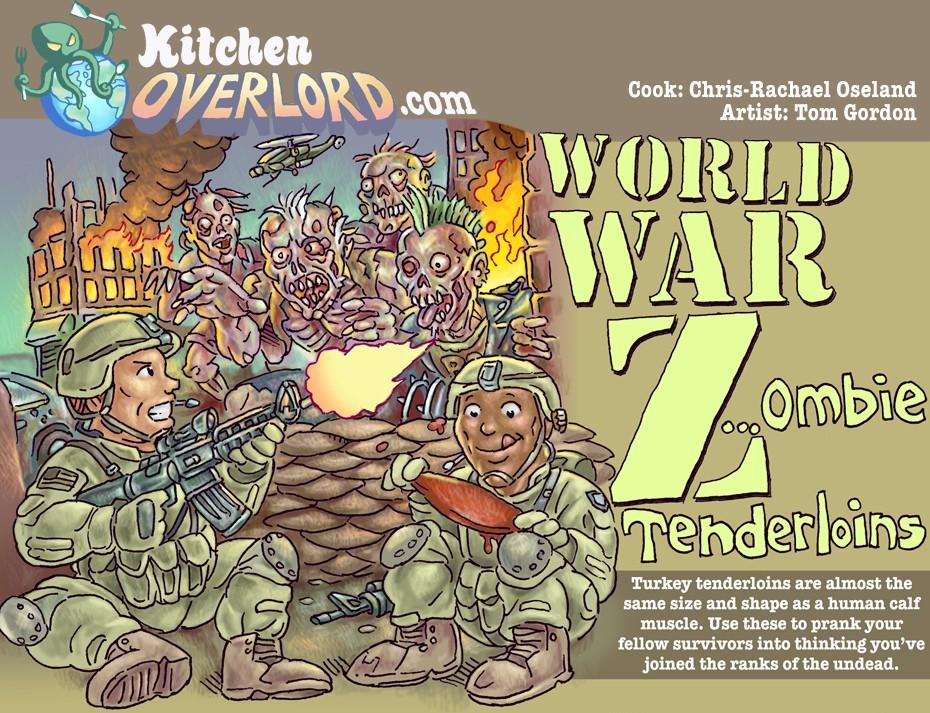 Kitchen Overlord World War Z Recipe