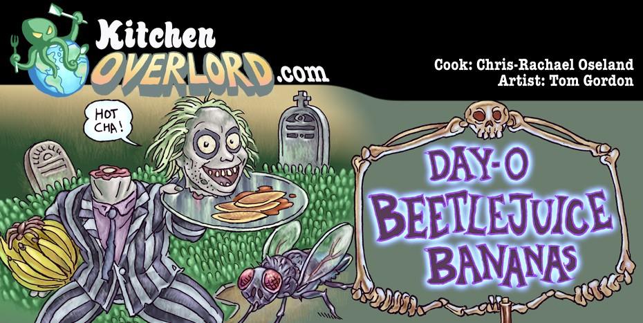 Beetlejuice Illustrated Recipe Header