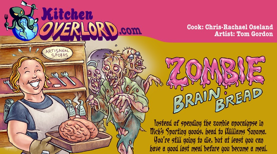 Zombie Brains recipe header