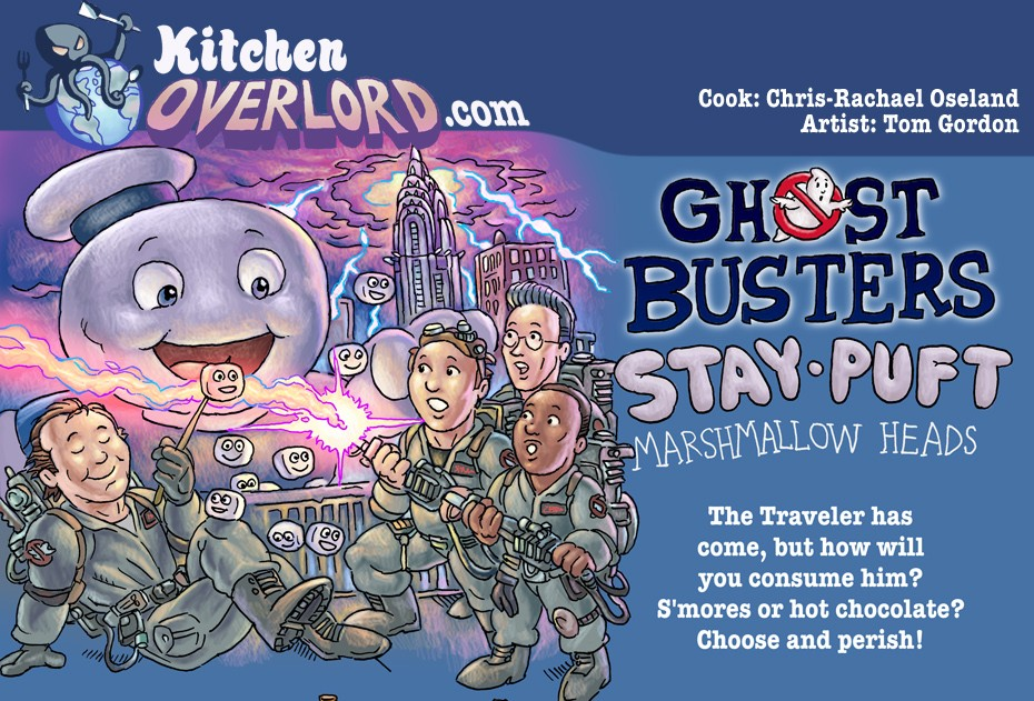 Ghostbusters Marshmallow Header