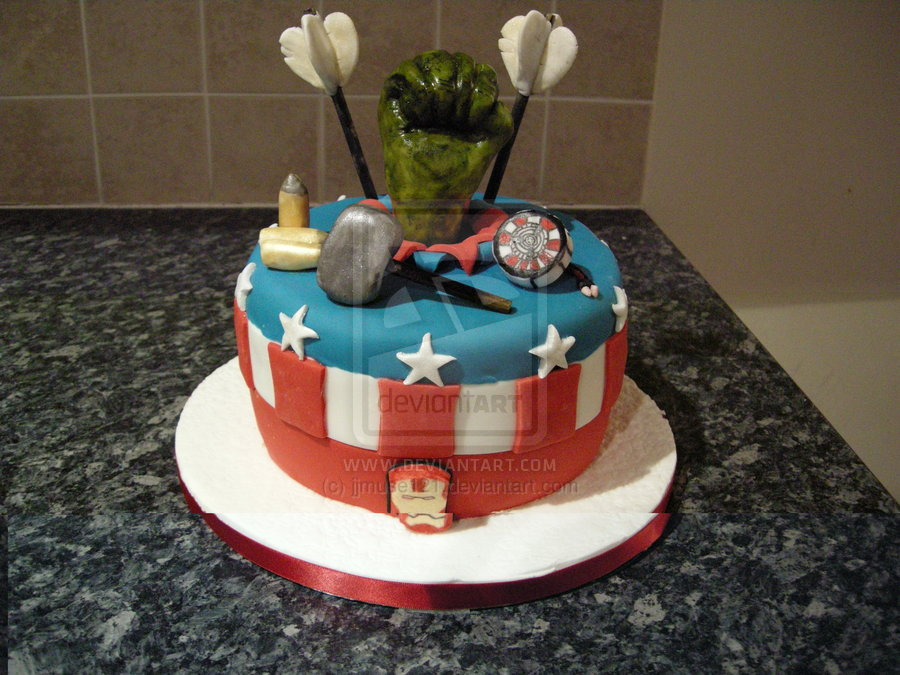 Geek Cake Friday Top 10 Marvel Avengers Cakes Kitchen