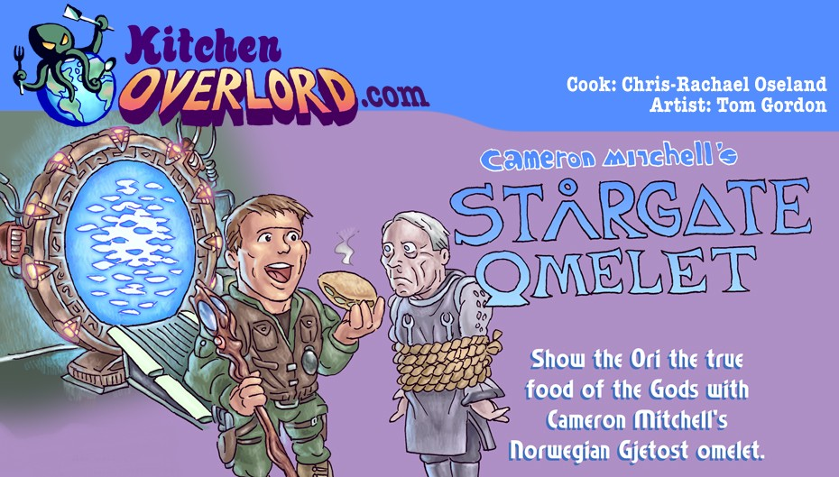 Kitchen Overlord Stargate Omelet Header