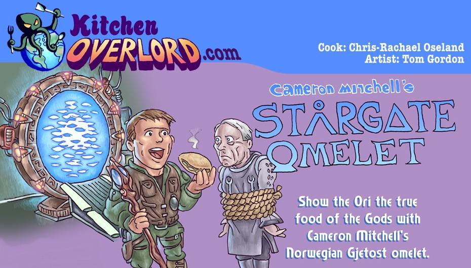 Kitchen Overlord Stargate Omelet Header