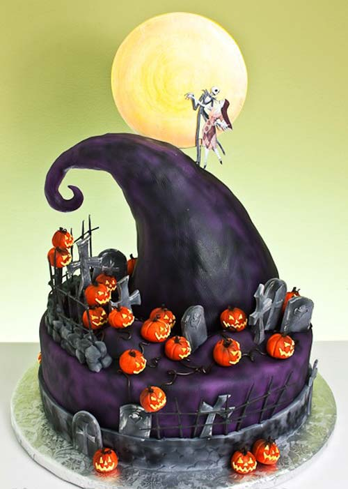 geek cake friday top 13 the nightmare before christmas cakes kitchen overlord