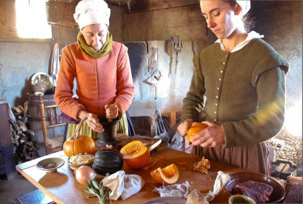 Thanksgiving Puritans