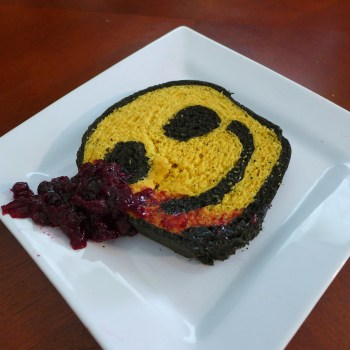Smiley Face Bread from The Watchmen