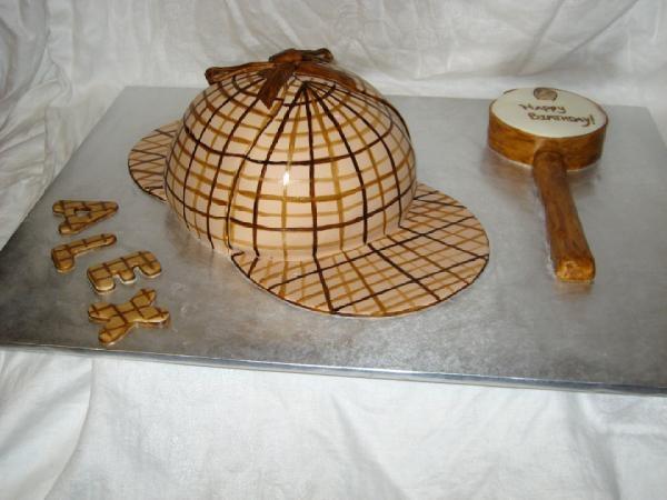 non BBC Sherlock 01 via Cake Central