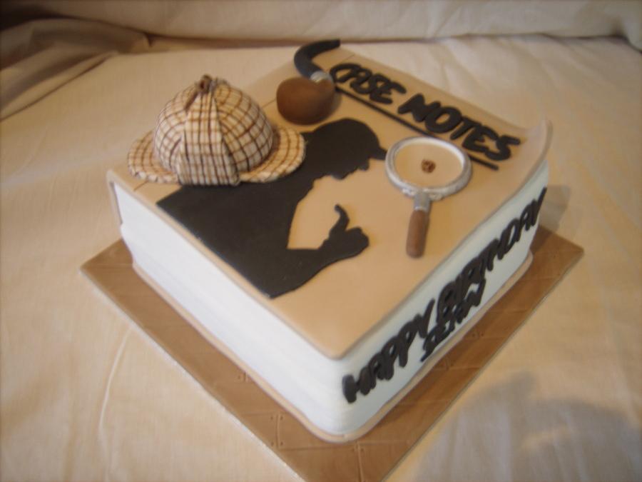 non BBC Sherlock 06 via Cake Central
