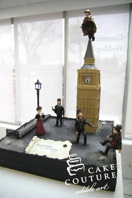 non BBC Sherlock 09 via Cakes Decor