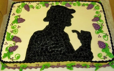 non BBC Sherlock 15 via Cakes Decor