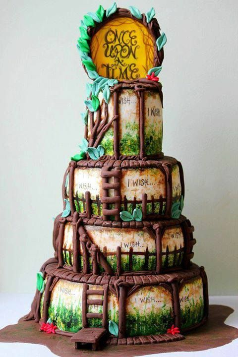 Pleasing Geek Cake Friday 9 Disney Tastic Once Upon A Time Cakes Kitchen Funny Birthday Cards Online Inifofree Goldxyz