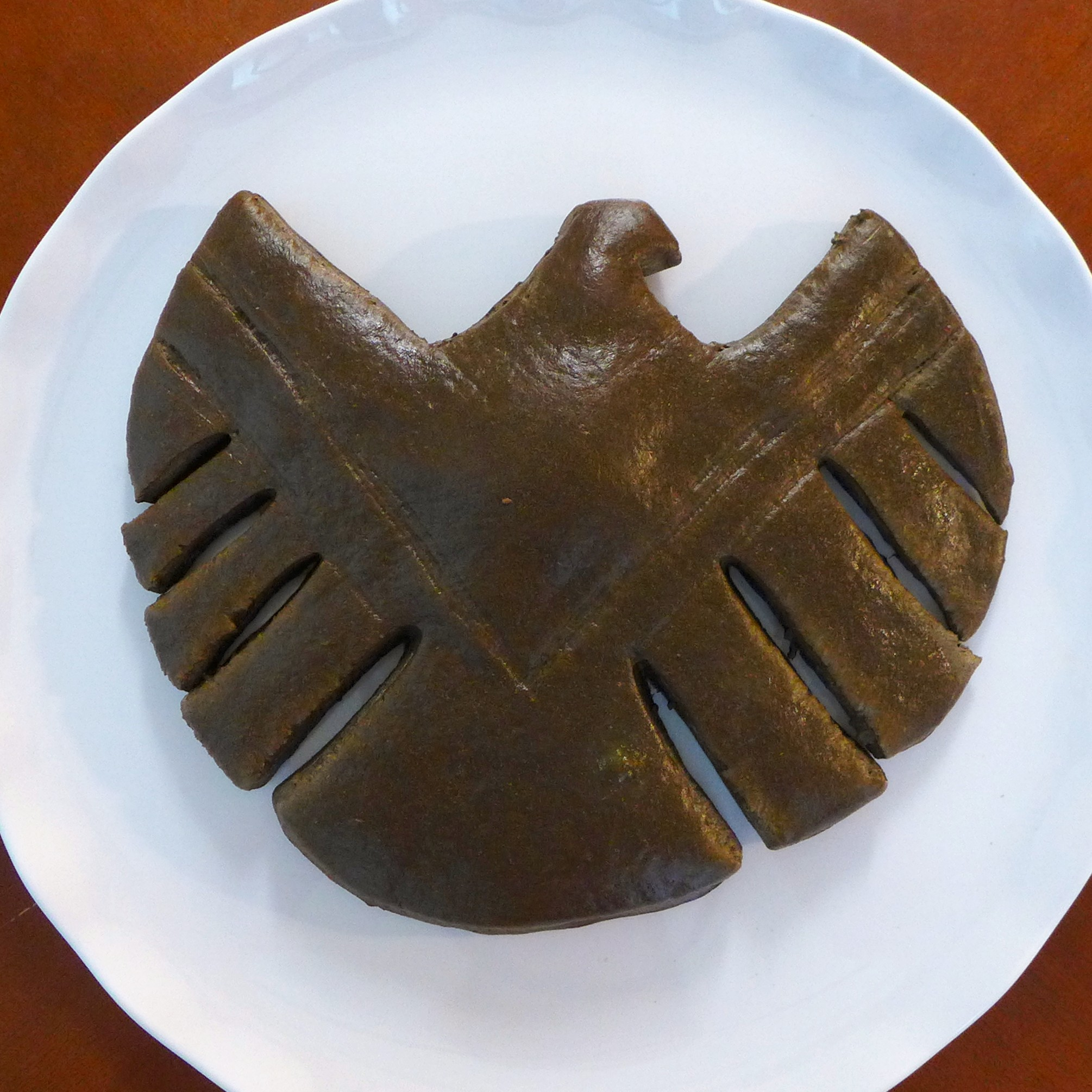 Kitchen Overlord - SHIELD Logo Bread Front View