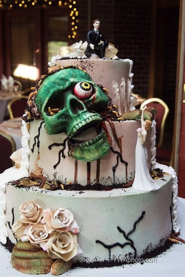 zombie wedding 20 via pintrest
