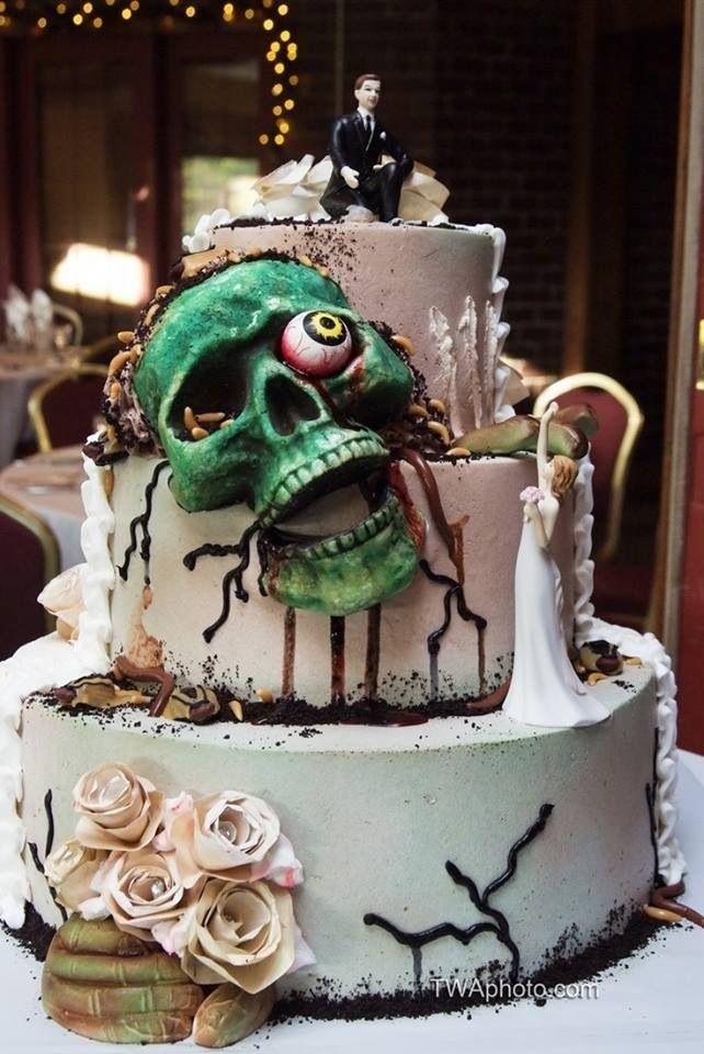 zombie wedding 20 via pintrest