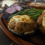 Hobbit Cookbook Stuffed Mushrooms