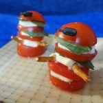Dalek Caprese Salad from Dining With the Doctor: Regenerated Whovian Cookbook