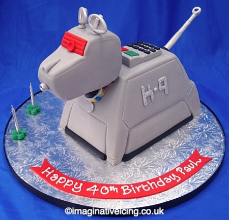 K9 Cake from Imaginative Icing