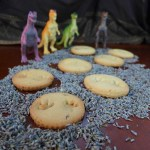 Jurassic World Dinosaur footprint cookies
