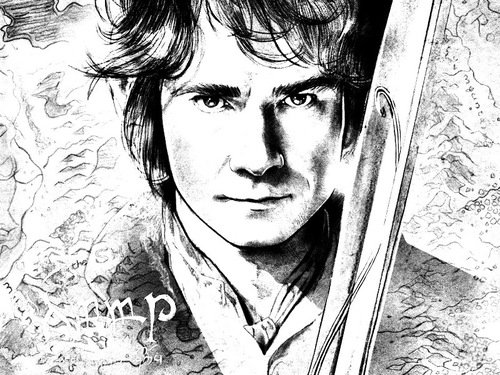 Coloring Pages For Adults That You Can Print : Hobbit week tolkien inspired coloring books and free adult