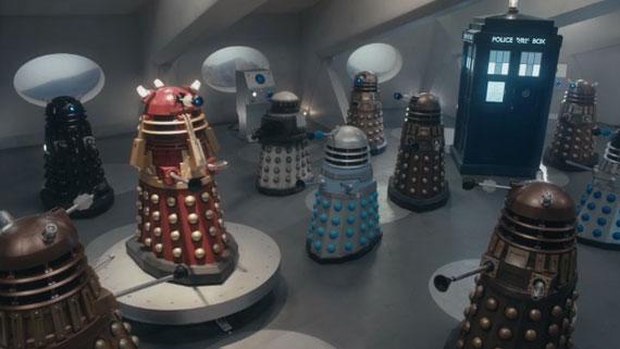 Doctor v Davros Daleks