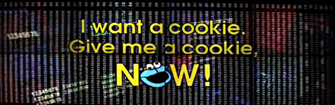 hackers I want a cookie