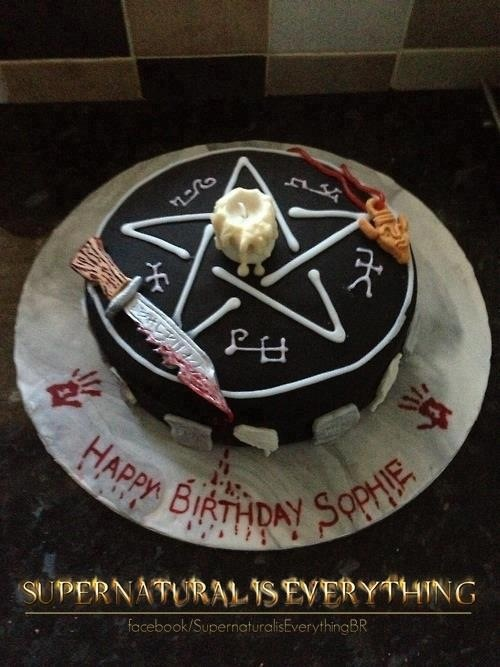 Birthday Cake Winchester