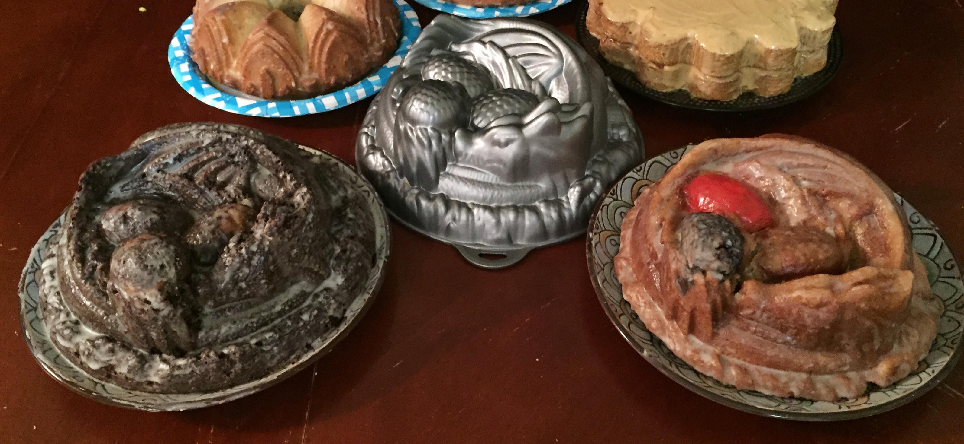 Dragon Cake Pan Recipe