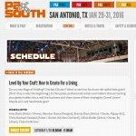 pax south 2016 panel listing lvlurcraft