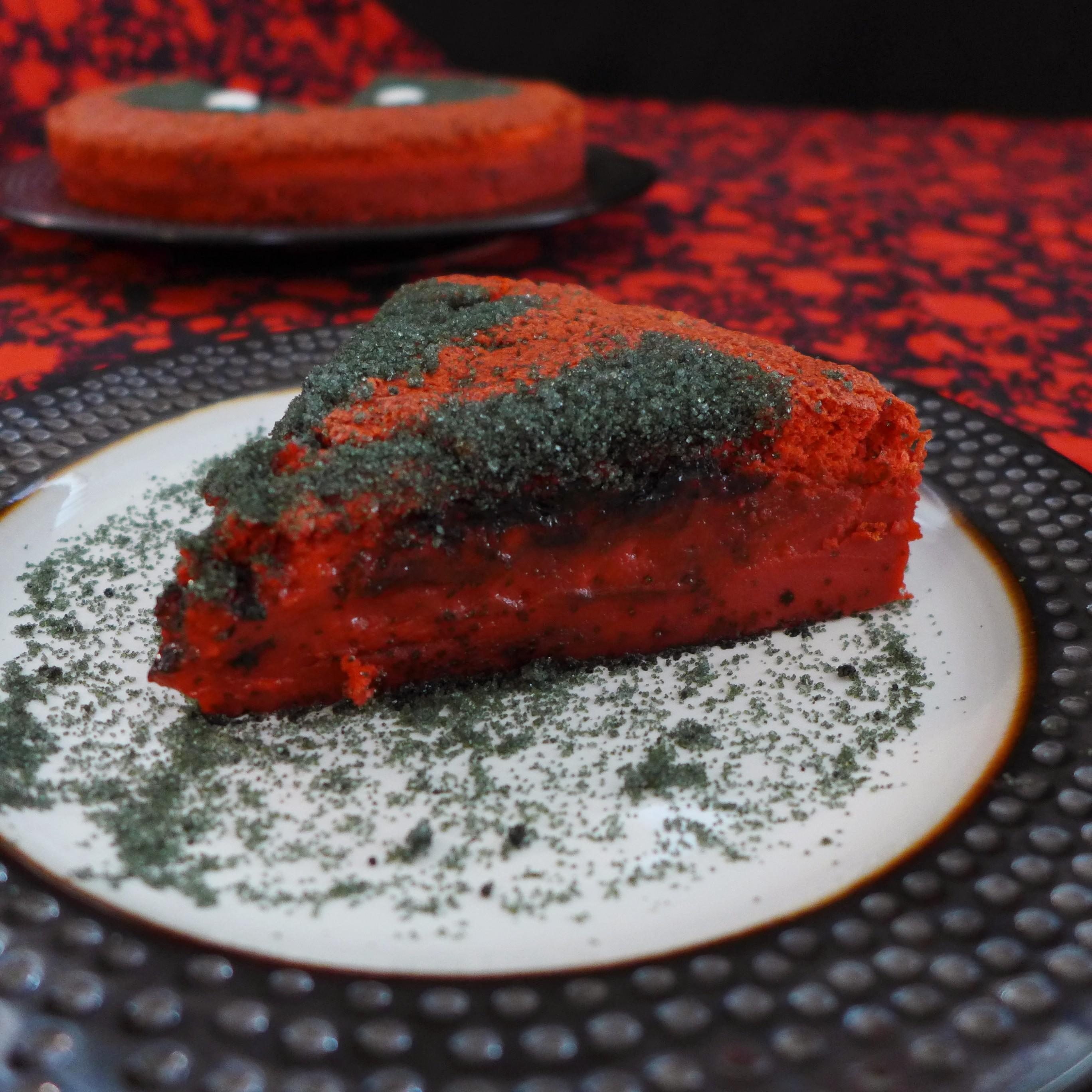 Kitchen Overlord's Deadpool Magic Cake Slice