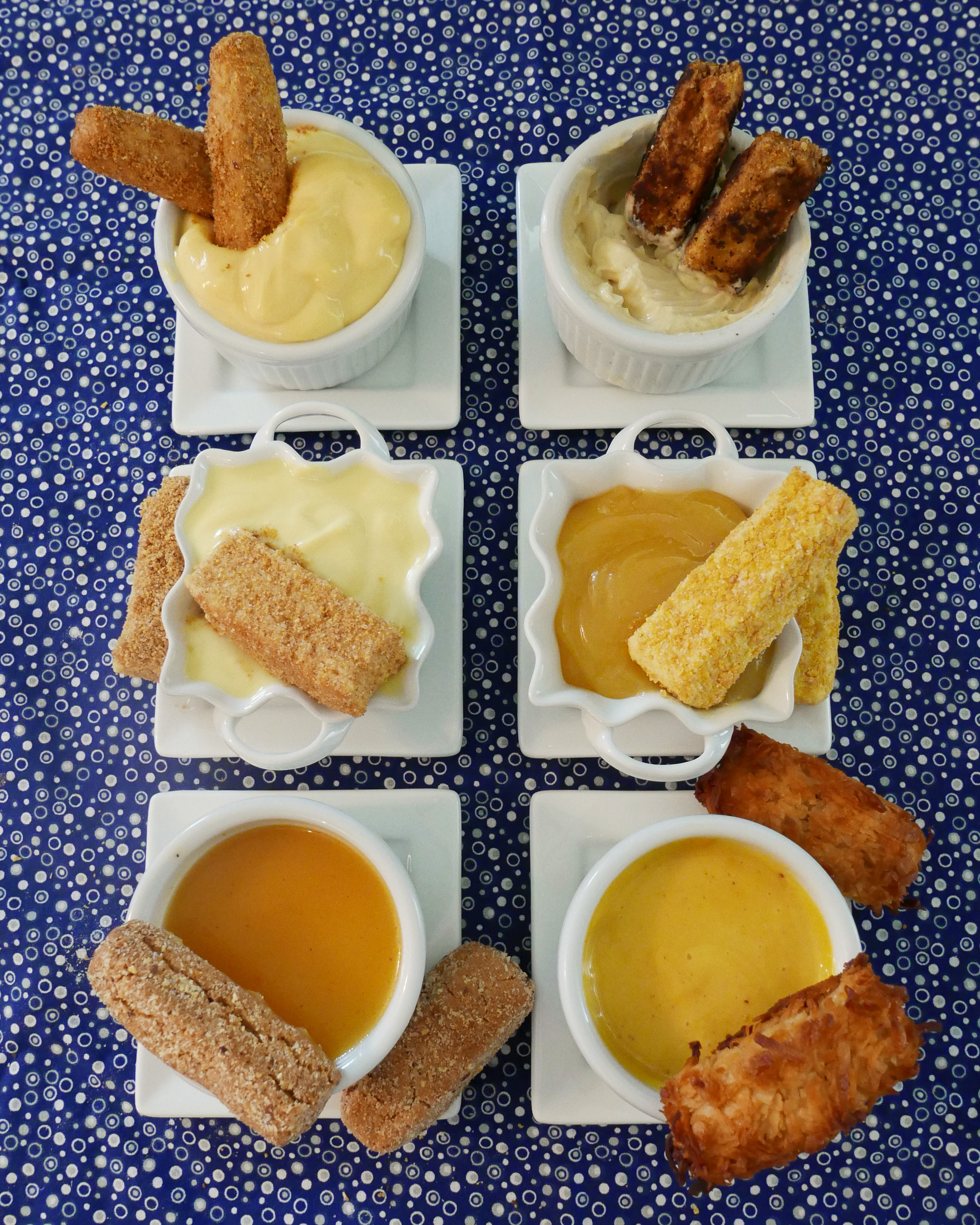 Sweet Fish Fingers With Sweet Custard 01