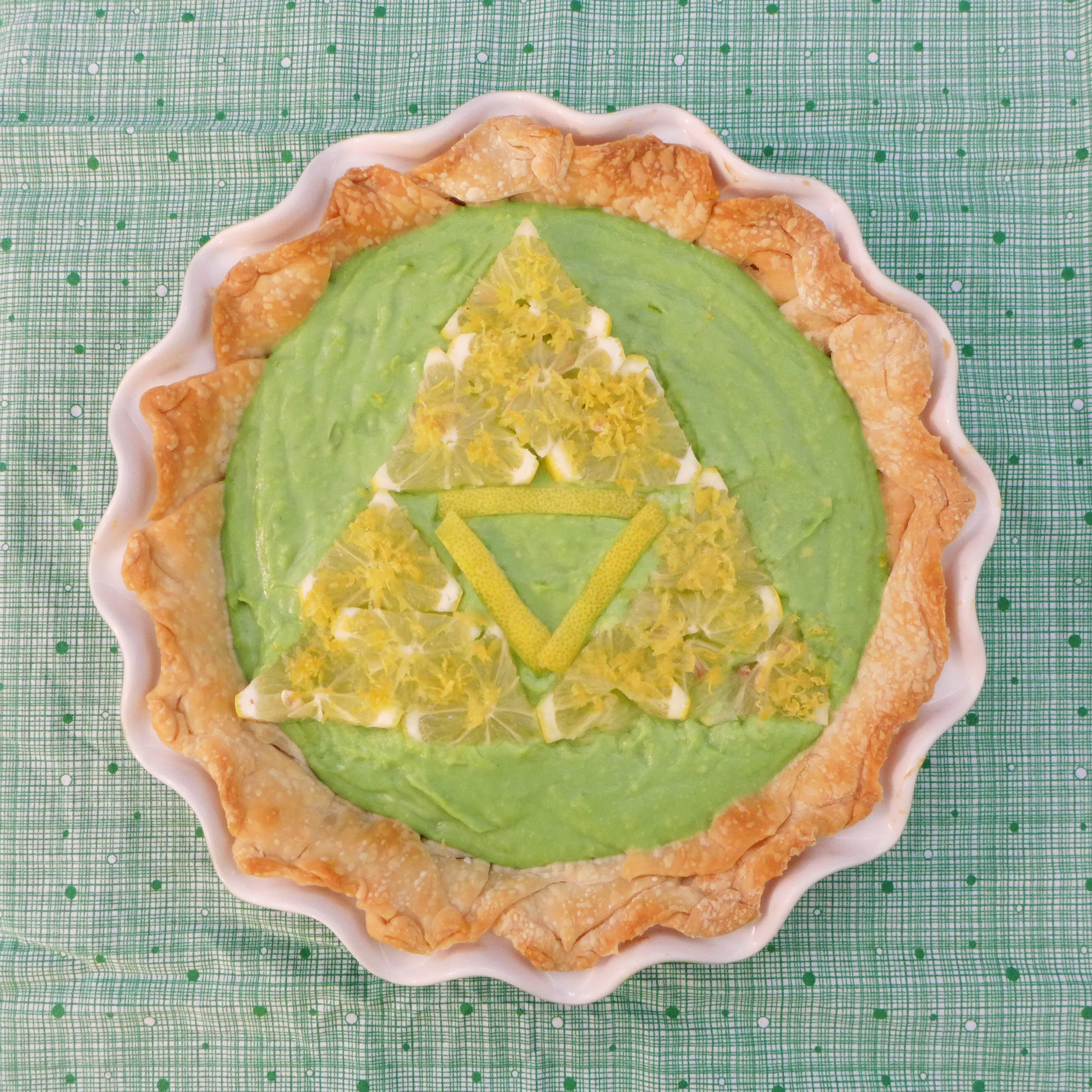 Zelda Avocado Lime Pie 01